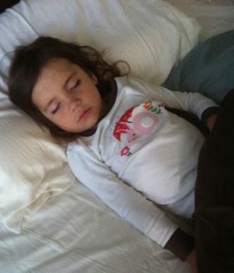 Sleeping Cella
