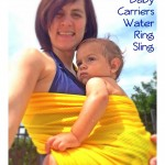 Take Baby in the Water with a Ring Sling from Active Baby Carriers