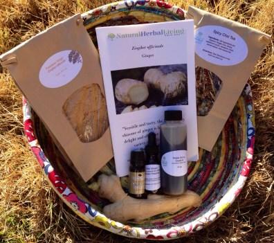 Natural Herbal Living Magazine Herb Box
