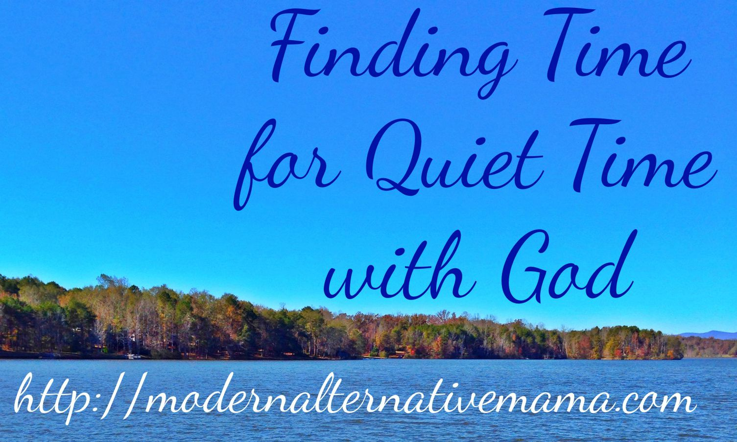 quiet time with god - photo #8