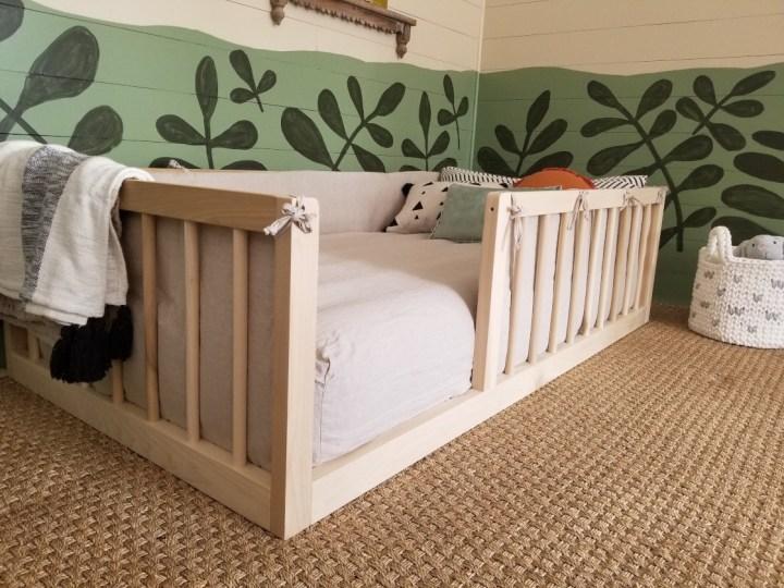 Diy Montessori Floor Bed Natural Living Homestead