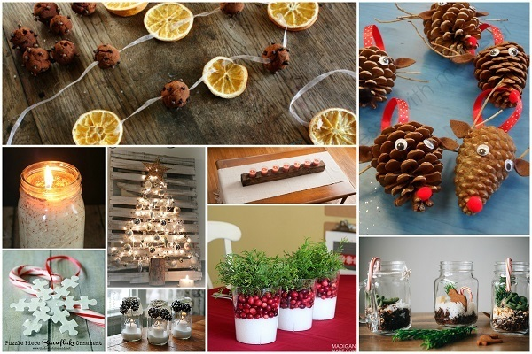 32 Homemade Eco-Friendly Christmas Decorations That Look