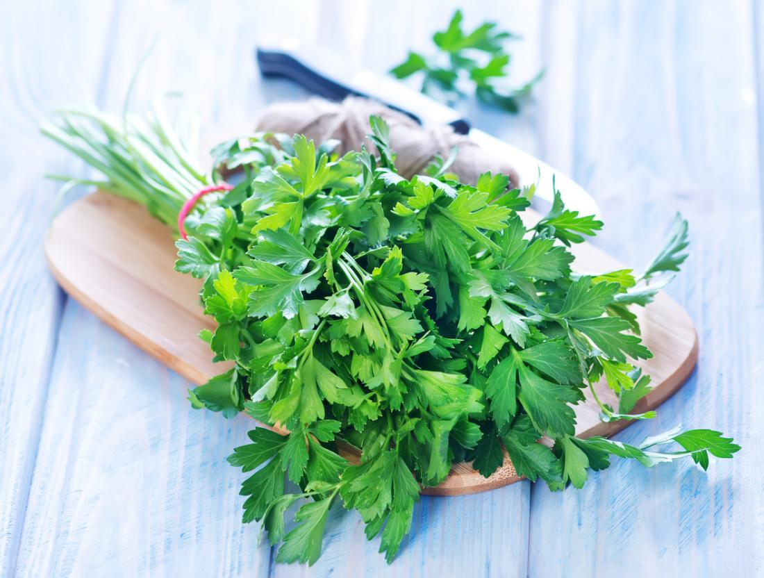parsley and Coconut Oil for Bruises