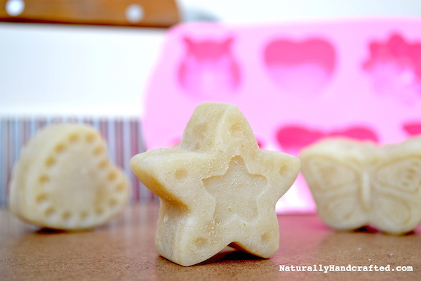 easy crock pot soap star shape