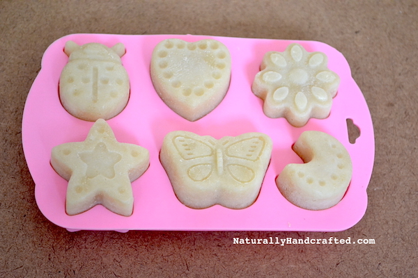 easy crock pot soap in mold