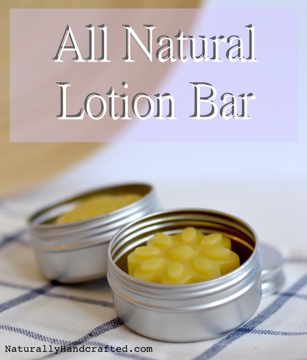 2 Lotion Bars Made with All Natural Lotion Bar Recipe