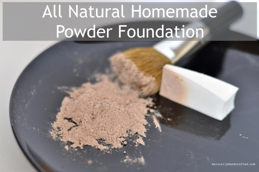 homemade powder foundation recipe final product