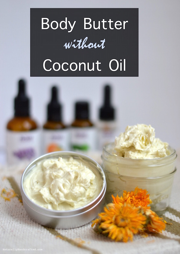Homemade Body Butter without Coconut Oil