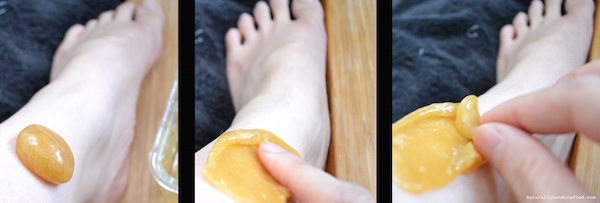 instructions for hard sugaring at home