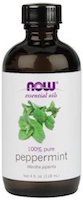 now foods peppermint essential oil for headaches