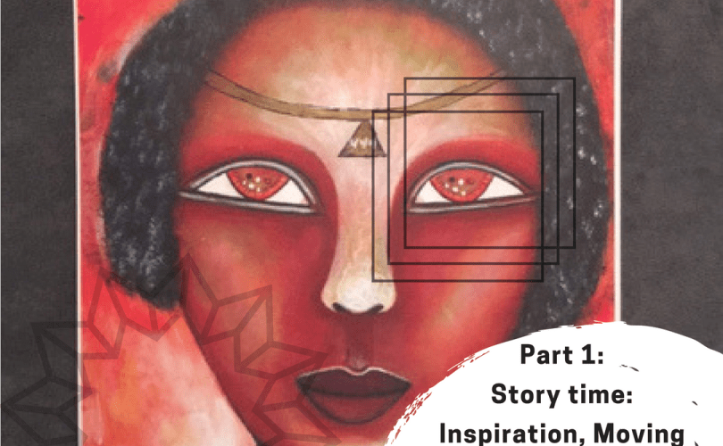 part 1 story time inspiration moving forward with your art