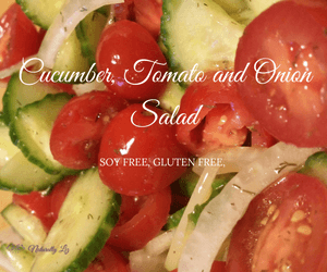 Cucumber, Tomato and Onion Salad