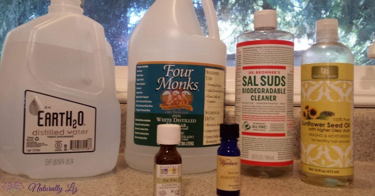 Homemade Dish Soap Ingredients