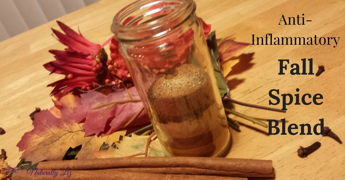 Anti-Inflammatory Fall Spice Blend~Naturallyliz.com