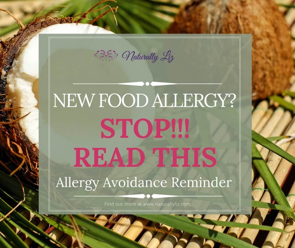 New Allergy, stop and read this!