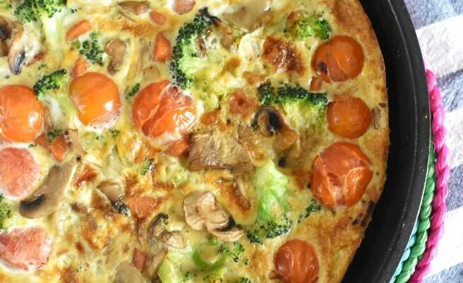 Cómo hacer frittata de verduras
