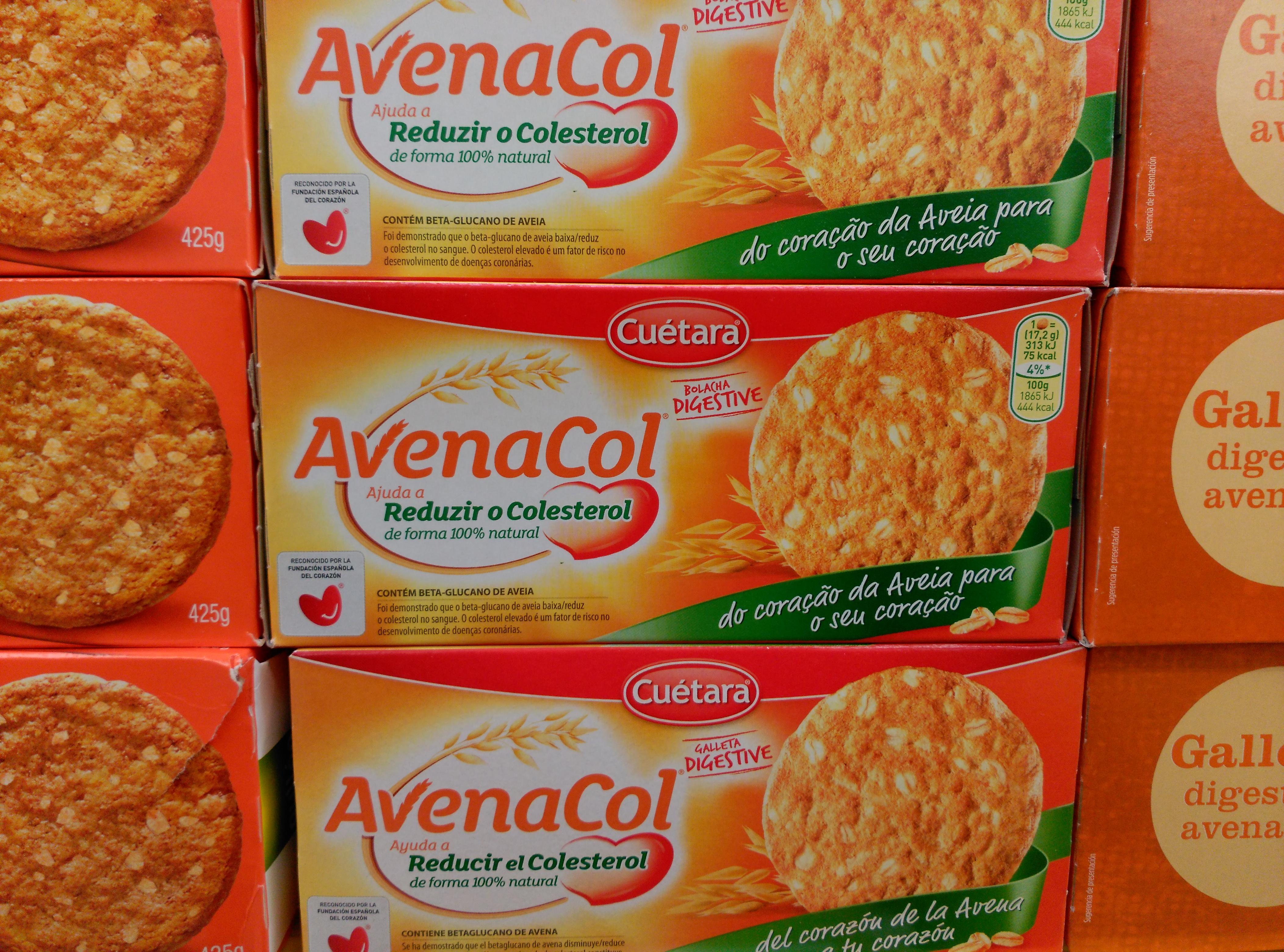 Las Galletas Avenacol Reducen El Colesterol Naturally Natalia
