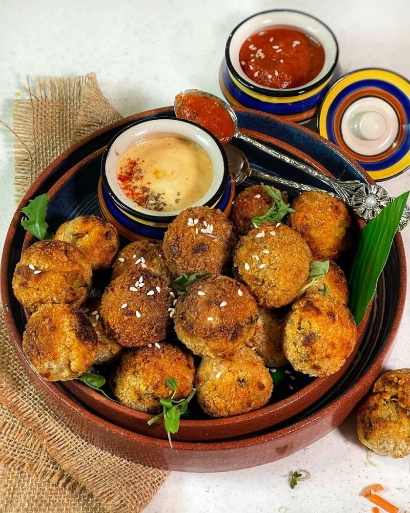 Quinoa Khichdi Arancini