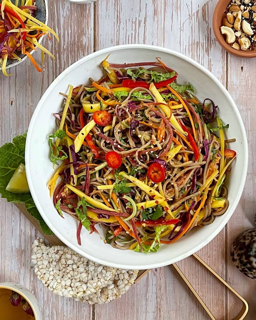 Thai Mango Noodle Salad