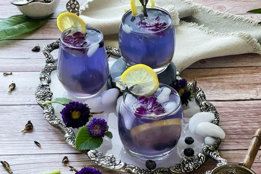 Butterfly Pea Lemonade