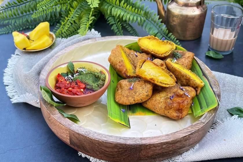 Mango Fritters - Aam Ke Pakode