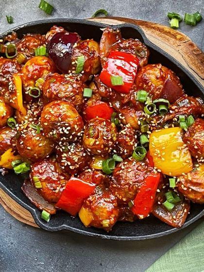 Korean Chili Potatoes