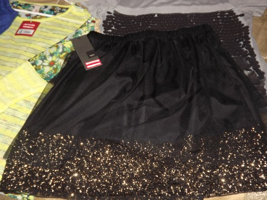 Mossimo Skirt. Sale. Target. Sheer. Bronze