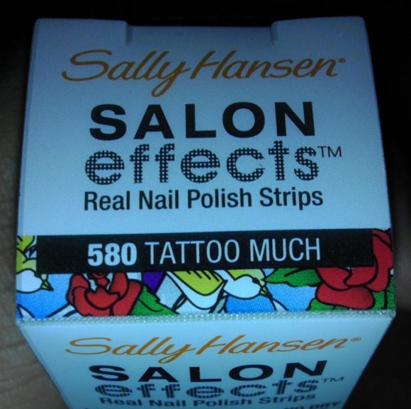 salon effects, naturally stellar, manicure, nails, tattoo, nail strips, sally hansen, nail polish, nails, beauty, cosmetics, rock, glam