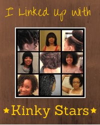 Naturally Stellar's Natural Hair Link Up - Kinky Stars