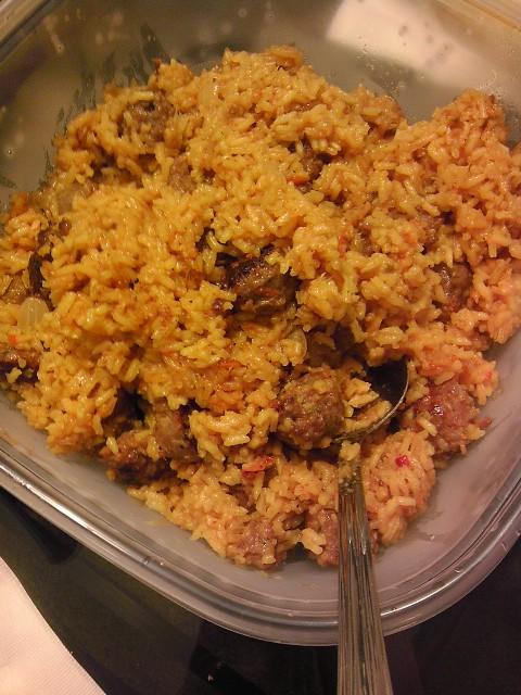 Recipe, Mamalaya, Naturally Stellar, Rice, Sweet Sausage, Dinner Ideas, 1 Dish Meals, Good Food