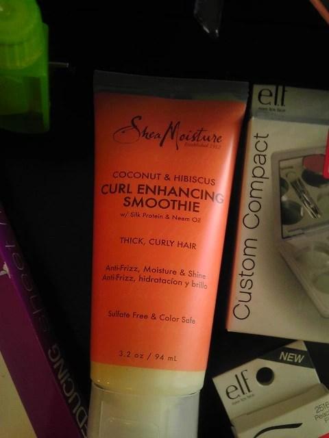 Shea Moisture, Tube, Curl Enhancing Smoothie, Natural Hair, Target, Beauty, Shopping, Naturally Stellar, Makeup, Cosmetics, Haul,