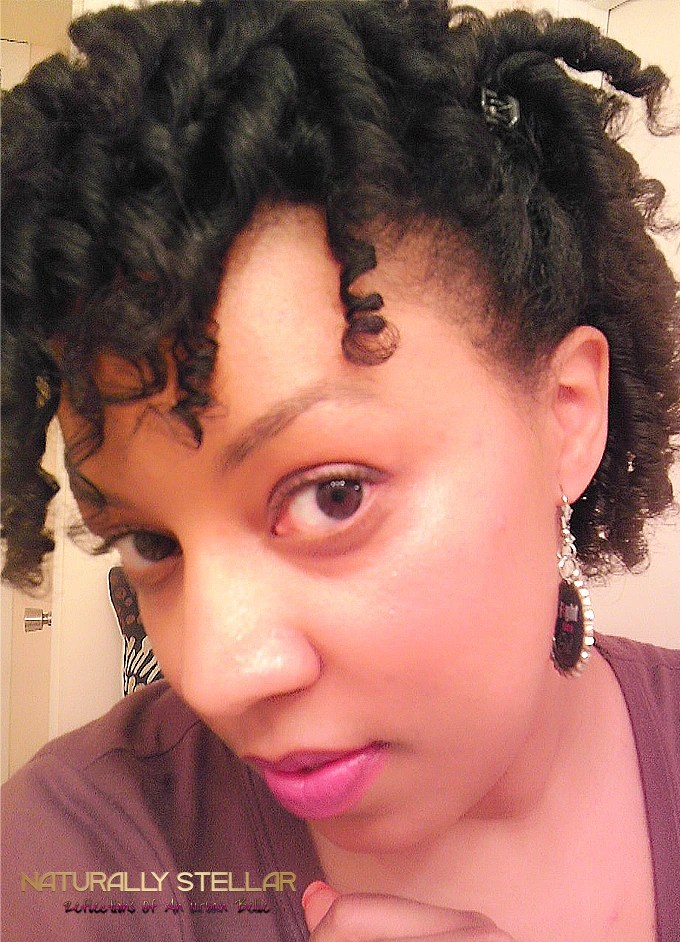 Finished Look | Flexi Rod Set Tutorial | Naturally Stellar
