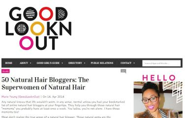 Top 50 Natural Hair Bloggers