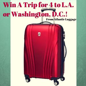 Atlantic Luggage, Win, Travel