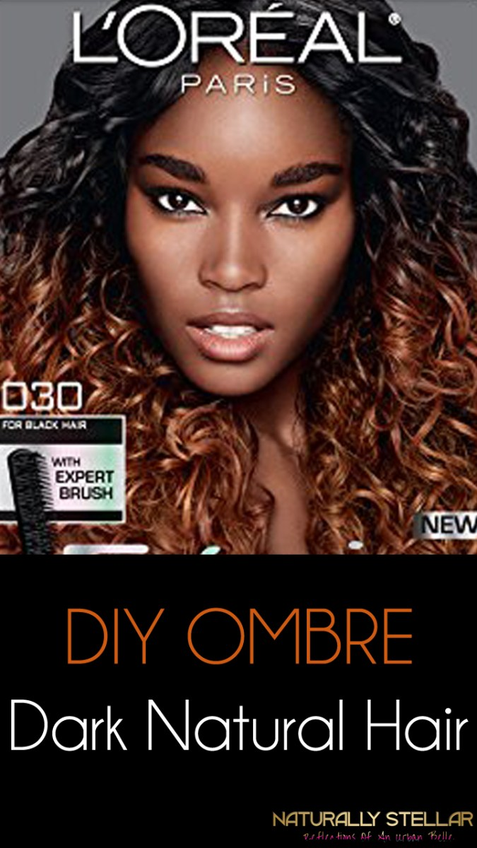 Natural Hair | My DIY Ombre Hair Color Experience