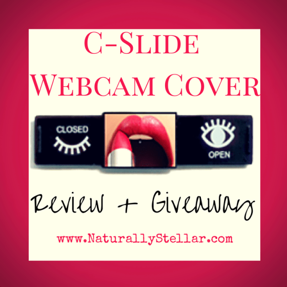 C-Slide Webcam Cover Giveaway