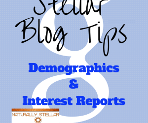 Google Analytics Demographics Reports