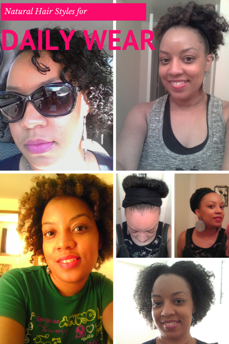 Simple Styles for Natural Hair