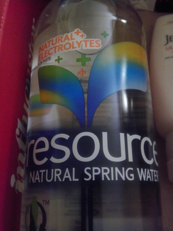 Influenster ModaVoxBox Resource Water