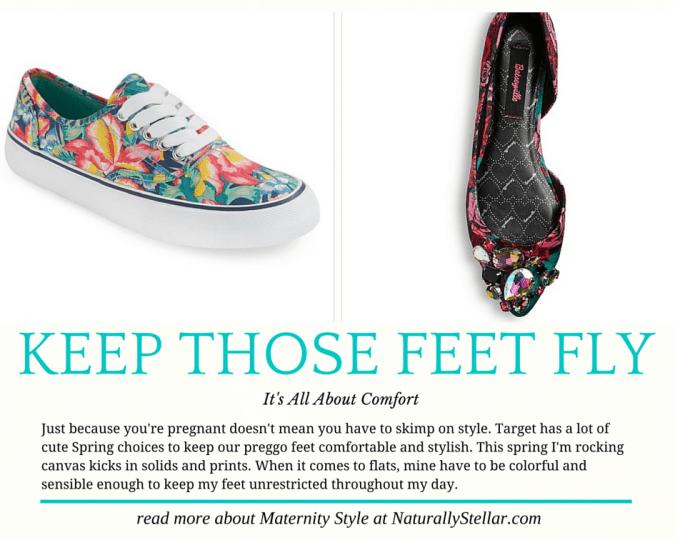 Maternity Foot Fashion