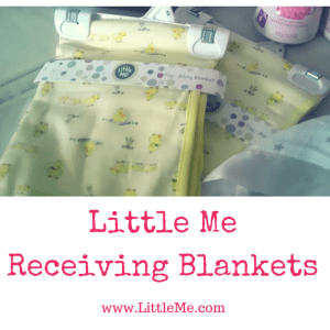Little Me Receiving Blankets | Dreft Mother's Day Giveaway | Naturally Stellar