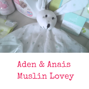 Aden & Anais Muslin Lovey | Dreft Mother's Day Giveaway | Naturally Stellar