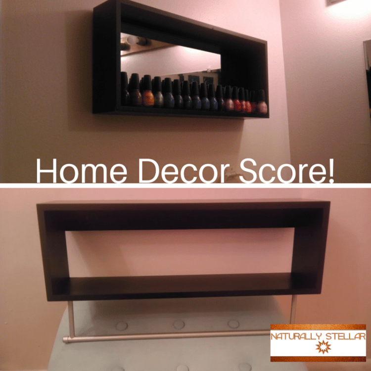 Nail Polish Wall Display Shelves