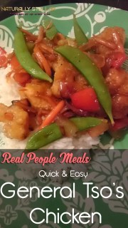 Real People Meals | Quick & Easy General Tso's Chicken