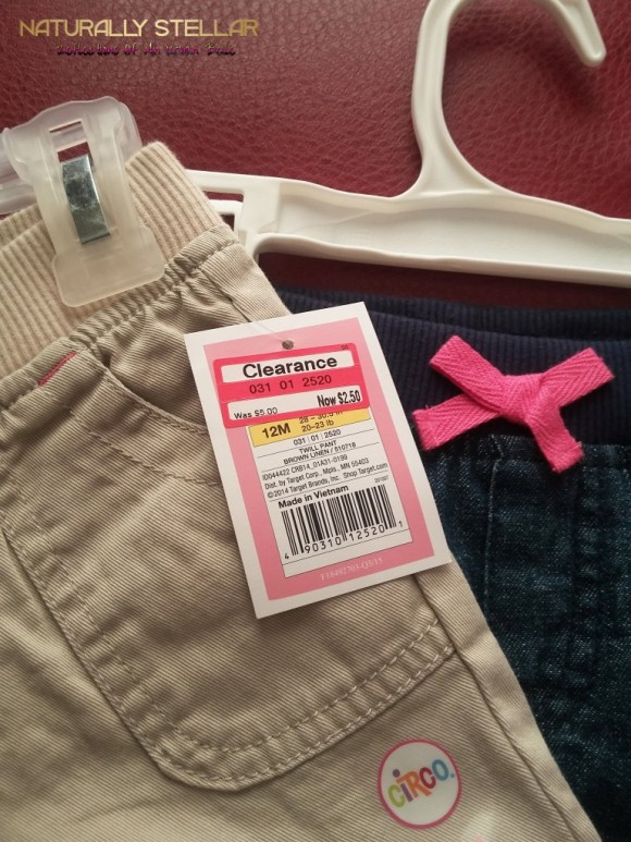 Baby Girl's Denim Pants 12m Target | Naturally Stellar