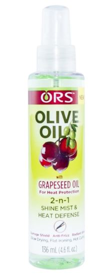 Products For Natural Style ORS 2-n-1 Shine Mist & Heat Defense Spray - Olive Oil w/ Grapeseed Oil