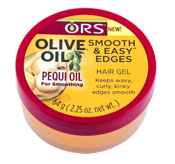 Products For Natural Style ORS Smooth & Easy™ Edges Edge Gel - Olive Oil w/ Brazilian Pequi Oil | Naturally Stellar