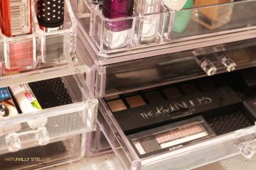 How To Organize Makeup | Naturally Stellar