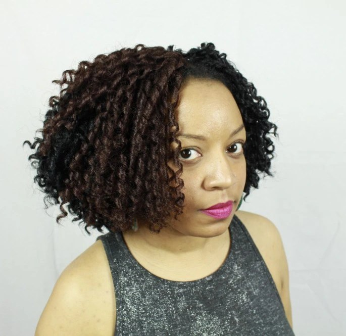 Urban Soft Dread Hair Style Coil Out Bob