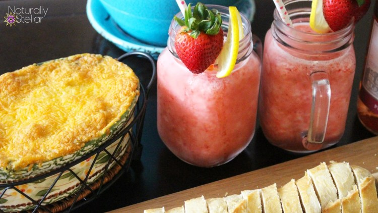 Moscato Slush Recipe Sutter Home #MoscatoMoments Frozen Strawberry Lemonade Moscato | Naturally Stellar